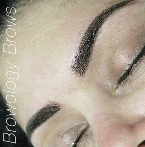 Eyebrow Tattooing Melbourne, Feather Touch Brow Tattoo